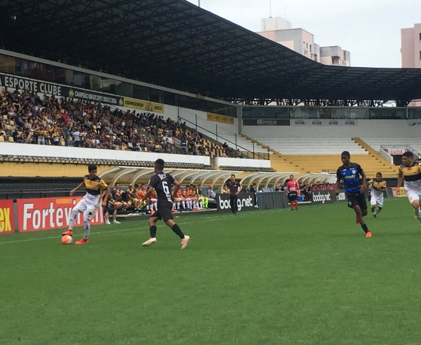 Tigre vence a ida da final do Catarinense Sub-17