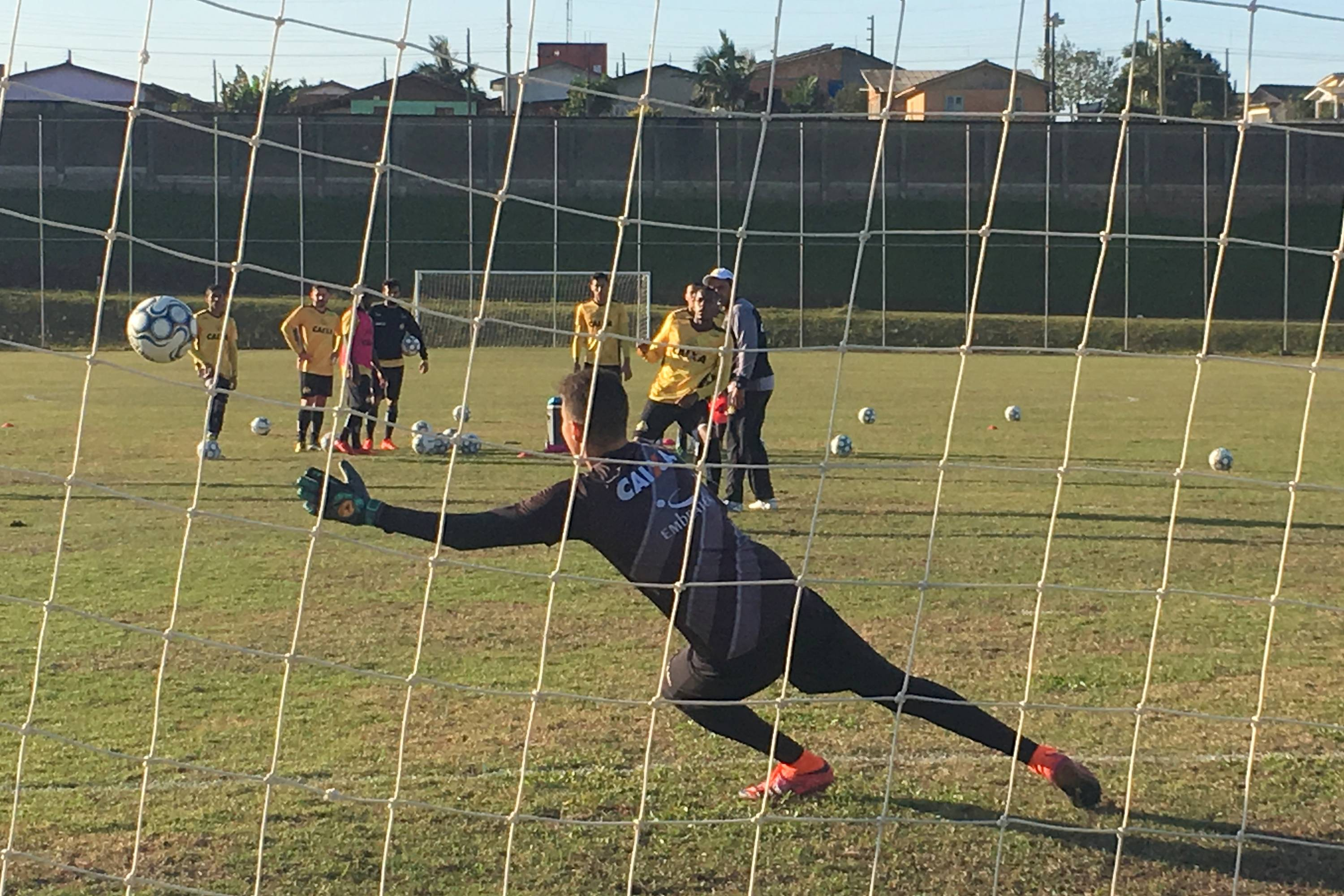 Treino do Criciúma no CT (Tarde) - 17/08